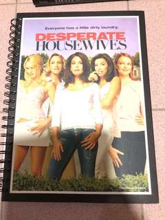 Desperate Housewives A4 Size Spiral Notebook (Collector Item)