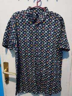 DC Floral Polo w/ issue