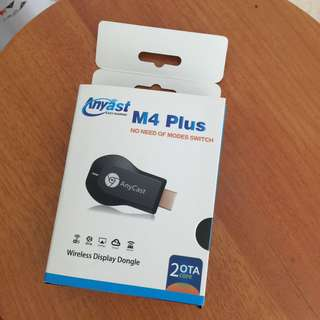 M4 plus mirror cast, airplay chrome cast,