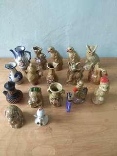 Pajangan keramik mini