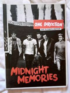 ONE DIRECTION ALBUM - Midnight Memories