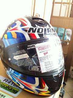 Original NOLAN Xlite Full Face Helmet Moto GP design