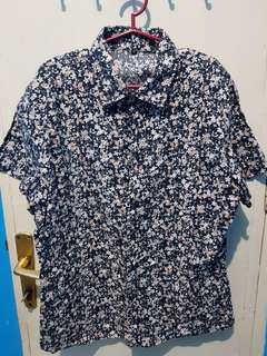 Unbranded Floral Polo