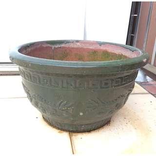 Large Outdoor Porcelain Flower Pot