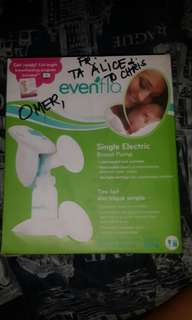 Electric breast pump EVENFLO