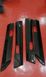 Honda Civic FD1 FD2 FD3 FD4 FD2R Real Carbon Fiber DOOR PANEL TOP AREA