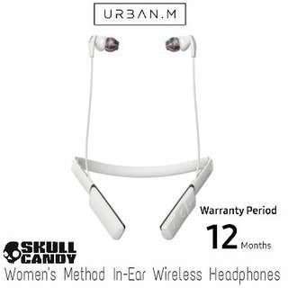 Skullcandy Women's Method In-Ear Wireless Headphones - Charcoal/Cool Gray/Swirl
