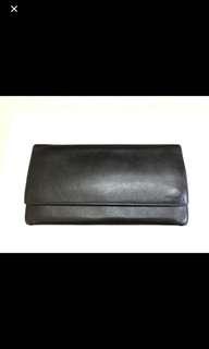 PRADA BLACK COLOUR LONG WALLET CARD HOLDER 黑色 銀包 長銀包 卡片包