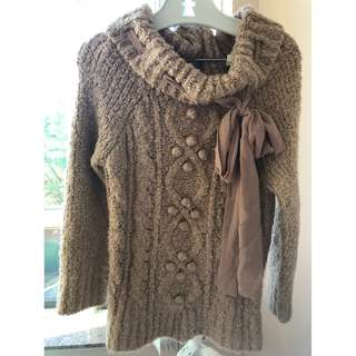 Japanese brand Liz Lisa wool sweater, fit size L