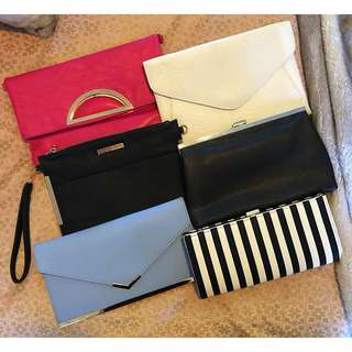 Assorted Clutches $10 each or $50 for all 6