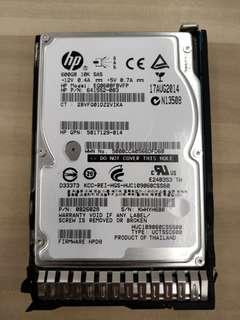 """🚚 HP 600GB 10K SAS 2.5"""" 653957-001 652583-B21"""