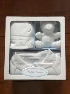 Polo Ralph Lauren Baby White Set
