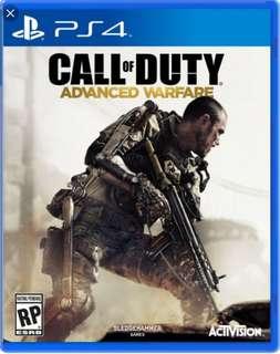 🚚 PS4 Call Of Duty Advanced Warfare
