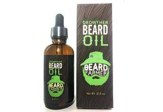 [IN-STOCK] Beard Farmer - Growther Beard Growth Oil (Grow Your Beard Fast) All Natural Beard Oil