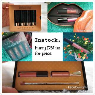 BNIB Make Up (Anastasia, Huda Beauty & Jouer Cosmetic)