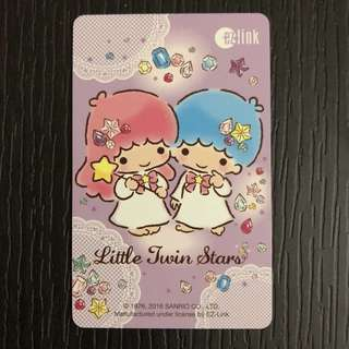 Little Twin Stars Ezlink card (Lilac)