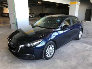 2017 Mazda 3 Available For Rental!! $500 Deposit Drive Away!! No Additional Charges!!