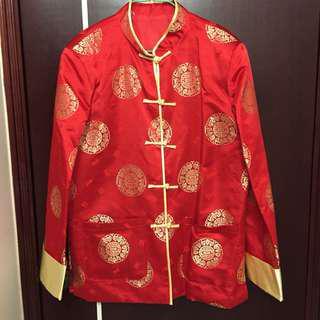 中國風春節新年男裝褂外套