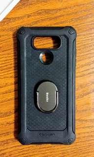 95%新 暗黑系 Spigen 手機外殼 LG G6 / LG G6+適用