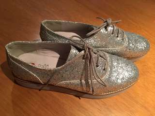 I ♥️ Billy glittery shoes