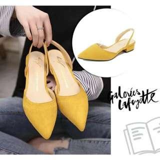 Pointed Toe Low Heels