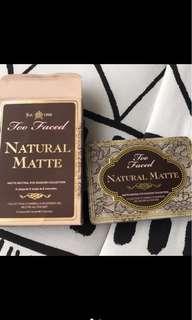 Nature matte eyeshadow