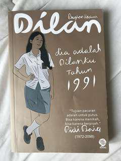 Novel Dia adalah Dilanku 1991