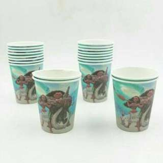 MOANA PAPER CUPS 10 pcs