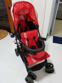 Used Twin stroller