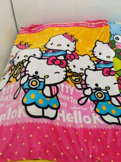 Bedcover anak hello kitty