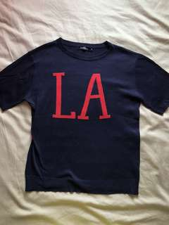 Knitted LA Shirt