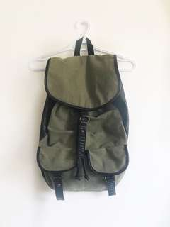 Garage Faux Leather Backpack