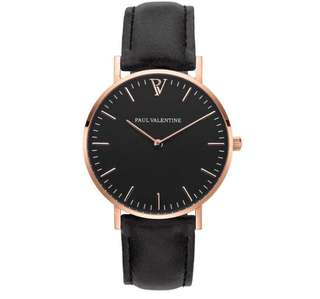 Ladies watch PV fashion stainless steel with rose gold quartz wrist Watch Couples section