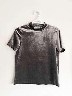Zara Metallic Top