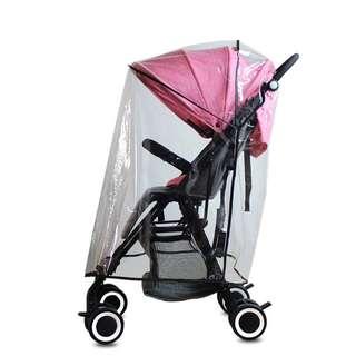 Stroller rain cover