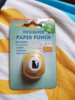 Paper punch - cat