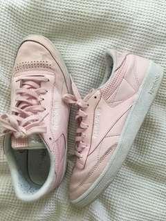Pink Reeboks