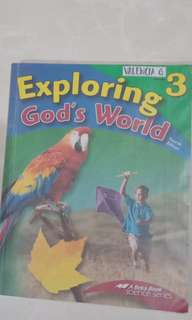 Science Series - Exploring God's World 3