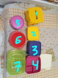 Tupperware 7pcs murah