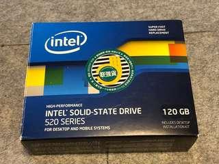 INTEL SSD 520 Series MLC固態硬碟 彩盒版齊件