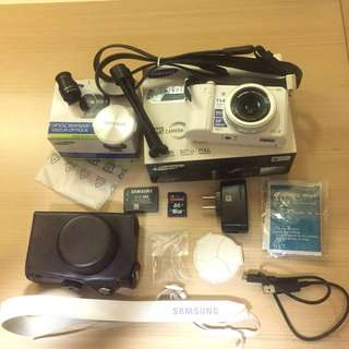 《降價》Samsung EX2 白色螢幕翻轉相機