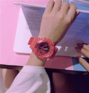 Trend Ulzzang Electronic Watch female students college wind luminous Korean version of simple fashion casual sports waterproof
