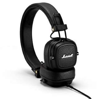 Marshall Major III Headphones + Mic (Brown)