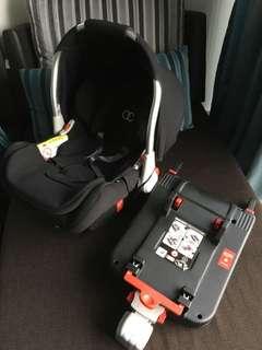 Koopers Kolo Baby Carrier Car Seat with Isofix Base