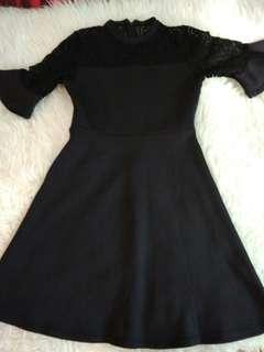 Dress Black turtle