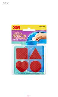 🚚 3M Safety Reflective Sticker for Bags Helmets