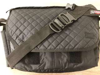 Porter x bag jack quilted nylon bicycle bag