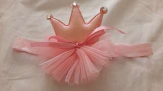 Crown Headband for 12m baby