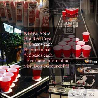 KIRKLAND BIG RED PARTY CUPS
