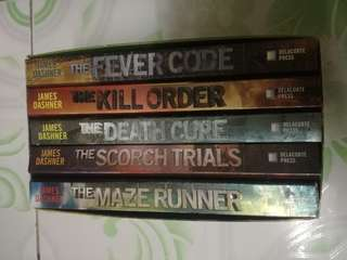 The Maze Runner Series ( Book 1-5 )